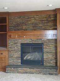 slate tile for a fireplace