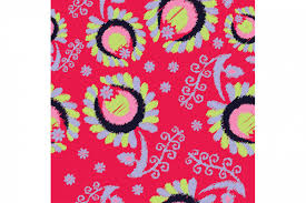 ethnic boho seamless pattern with decorative flowers print cloth design wallpaper example