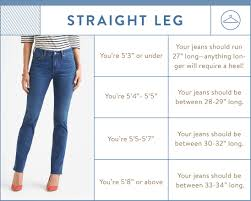 Height And Inseam Chart Pin On Beauty Tips