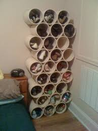 build your own pvc pipe shoe rack