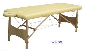 wooden portable massage table wb 002