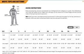 Military Size Chart Px Tac Military Size Chart