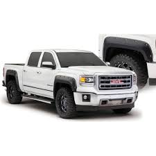 gmc trucks 2014 white. bushwacker fender flare black pocketstyle set gmc sierra 20142017 gmc trucks 2014 white