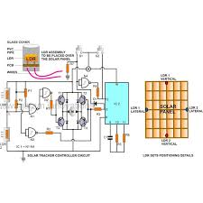 building an automatic dual axis solar tracker introduction and building solar tracker circuit diagram image