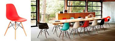 eames furniture design. PLASTIC-CHAIR-CHARLES-EAMES-RED Eames Furniture Design E