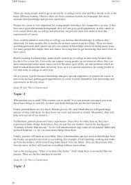 essay on why to go to university toefl® essay sample why go to university english test net