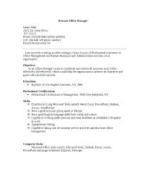 Front Desk Manager Resume – Letsdeliver.co