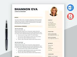 Resume Modern Format Free Marketer Resume Template In Word Doc Format Cv Modern