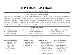 System Administrator Resume Sample India It System Administrator