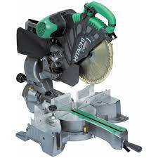 hitachi 10 inch miter saw. hitachi c12rsh 305mm slide compound mitre saw with laser marker 240v 10 inch miter m