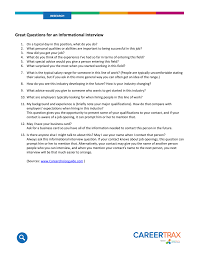 Good Interview Questions To Ask A Business Owner Great Questions For An Informational Interview