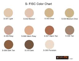 Skin Tone Chart With Names S Series Skin Color Chart In 2019 Skin Color Chart Colors