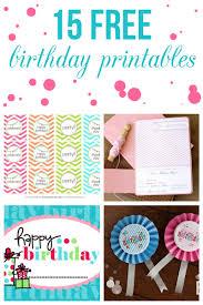 free birthday printables simple happy birthday invitations free printable