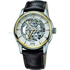 "skeleton watches men s ladies watches watch shop comâ""¢ mens oris artelier skeleton automatic watch 0173476704351 0752170fc"