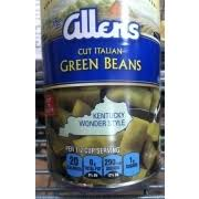 photo of the allens green beans cut italian