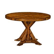 reion walnut round dining table