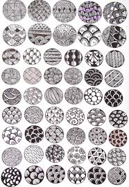 Official Zentangle Patterns Awesome Design Ideas