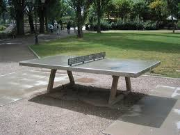 concrete ping pong table. Concrete Ping Pong Table For Outdoors. I
