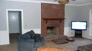 paint ideas for fireplace wall marvelous paint colors for living room with red brick fireplace on