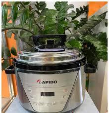 ⭐Nồi Áp Suất Điện Đa Năng Rapido RPC900-D 6 Chức Năng Nấu Tự Động Van An  Toàn Tự Động Tự Xả Áp Khi Quá Nhiệt: Mua bán trực tuyến Nồi áp suất