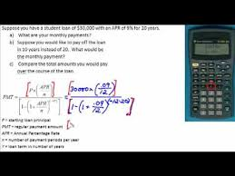 Calculate Loan Payment Formula Videos Matching How To Calculate Loan Repayment Lending Club