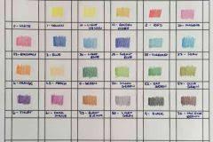 Faber Castell Classic Colored Pencils Color Chart Staedtler Ergo Soft 157 Color Pencil Color Chart 1 Art