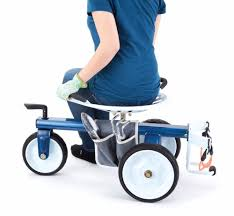 details about gorilla carts gcg rgs rolling garden scooter