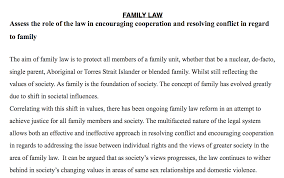 hsc legal studies family law essay notexchange hsc legal studies family law