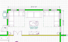 family room floor plan additions
