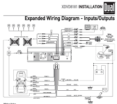 wiring diagram for a dual car stereo wiring image dual stereo wiring harness solidfonts on wiring diagram for a dual car stereo