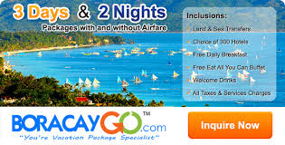 3 day 2 night boracay package deals for 2018