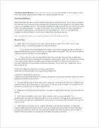 Resume Objective Statement Entry Level Best Resume Objective