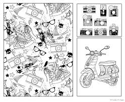 Small Picture The Hipster Coloring Book Picture Grown Ups Free Download