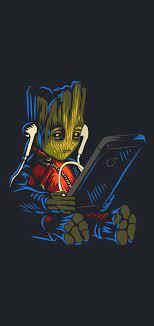 Baby Groot iPhone 11 Pro Max Wallpaper ...