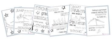 Children's coloring pages online allow your child. Gymnastics Activities To Do When You Re Stuck At Home