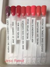 Anc Nails Color Chart 135 Best Dip Nails Color Swatches Images Dip Nail Colors
