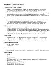 Interests On Resume Sample High School And Activities