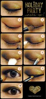 makeup black gold