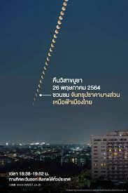 สดร.ชวนชม 'จันทรุปราคาบางส่วน' คืน 'วันวิสาขบูชา' 26 พฤษภาคม