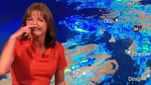 Weather broadcaster, louise lear is one of the recognized presenter in the news industry. Watch Bbc Weather Presenter Bursts Into Uncontrollable Laughter Live On Air Independent Ie