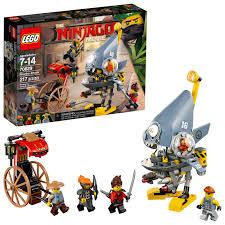 LEGO Ninjago Movie Piranha Attack 70629 (217 Pieces) - Walmart.com -  Walmart.com