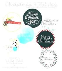Avery Gift Tags Merry Tags Template Free Printable Holiday Labels Gift Tag
