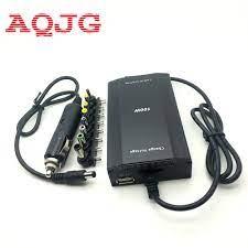 USB Güç Şarj Cihazı AB ile dizüstü bilgisayar için 100 watt evrensel dizüstü  AC DC güç laptop adaptörü araç şarj cihazı Ücretsiz Kargo Tak ~ Dizüstü  Bilgisayar Aksesuarları