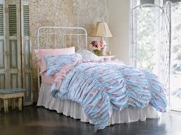 new simply shabby chic cabbage rose rouched full queen duvet cover