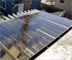 to install twin wall polycarbonate panels