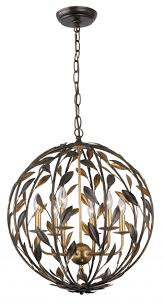 Decor Sphere Chandelier Is One Of The Best Light Fixture And - Best lighting for dining room