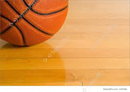 Wooden Basketball Game Photograph Of Basketball On Gym Floor 87