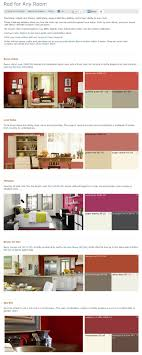 Popular Red Paint Colors 71 Best Benjamin Moore Color Combinations Images On Pinterest