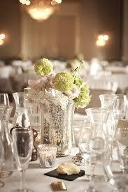 wedding centrepieces mercury silver glass vases mercury silver tea light holders