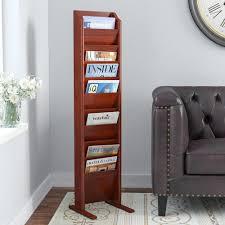 office magazine racks. Magazine Racks For Office Free Standing Rack Plans Wood With Floor R